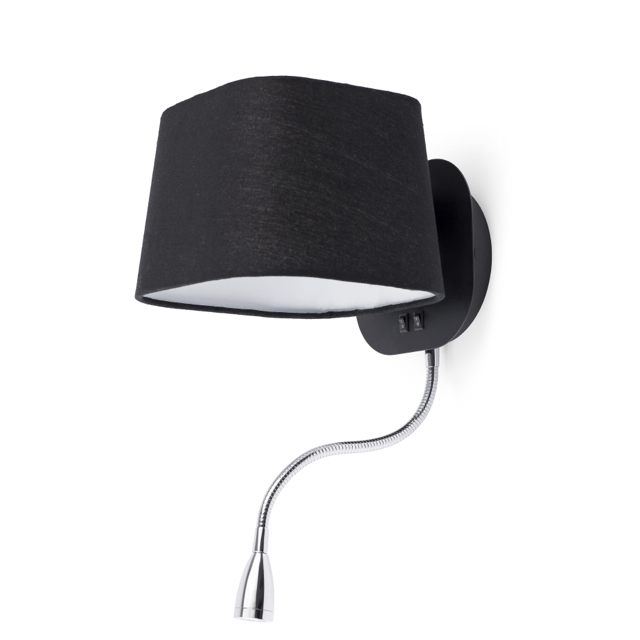 Comprar aplique pared con led negro comprar l mparas de - Lamparas de aplique para pared ...