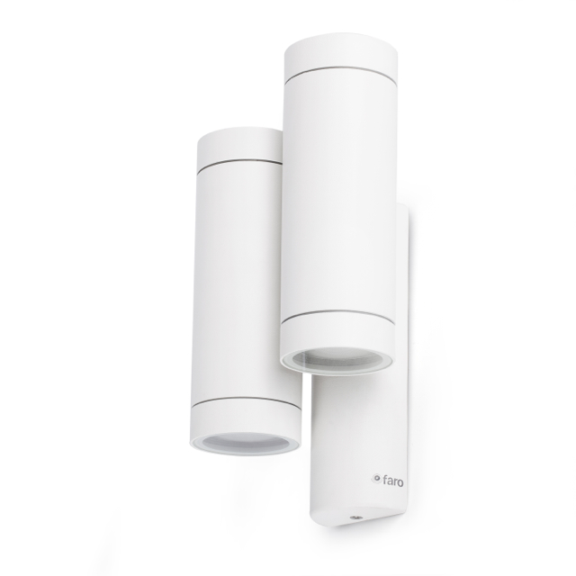 Comprar aplique de pared doble exterior para led - Aplique de pared exterior ...