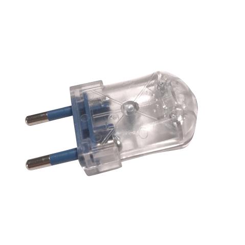 Clavija enchufe para l mparas transparente enchufes y - Interruptores para lamparas ...
