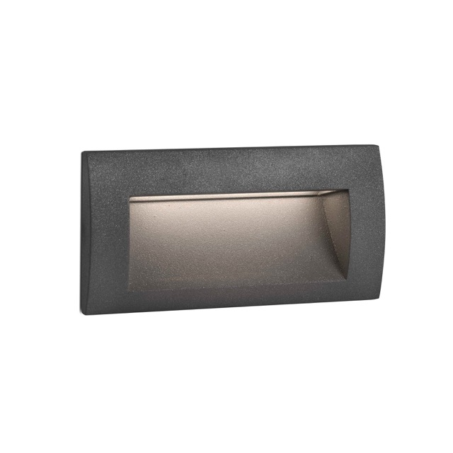 Aplique de pared con led para paredes sedna 2 de faro for Focos para exterior jardin