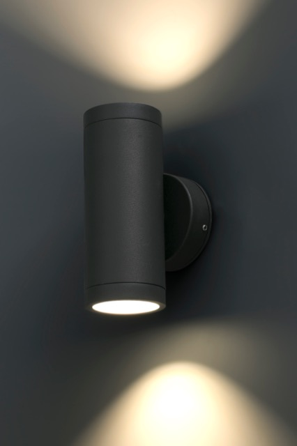 Aplique de pared con led jardines cobo de faro apliques modernos - Luces de pared exterior ...