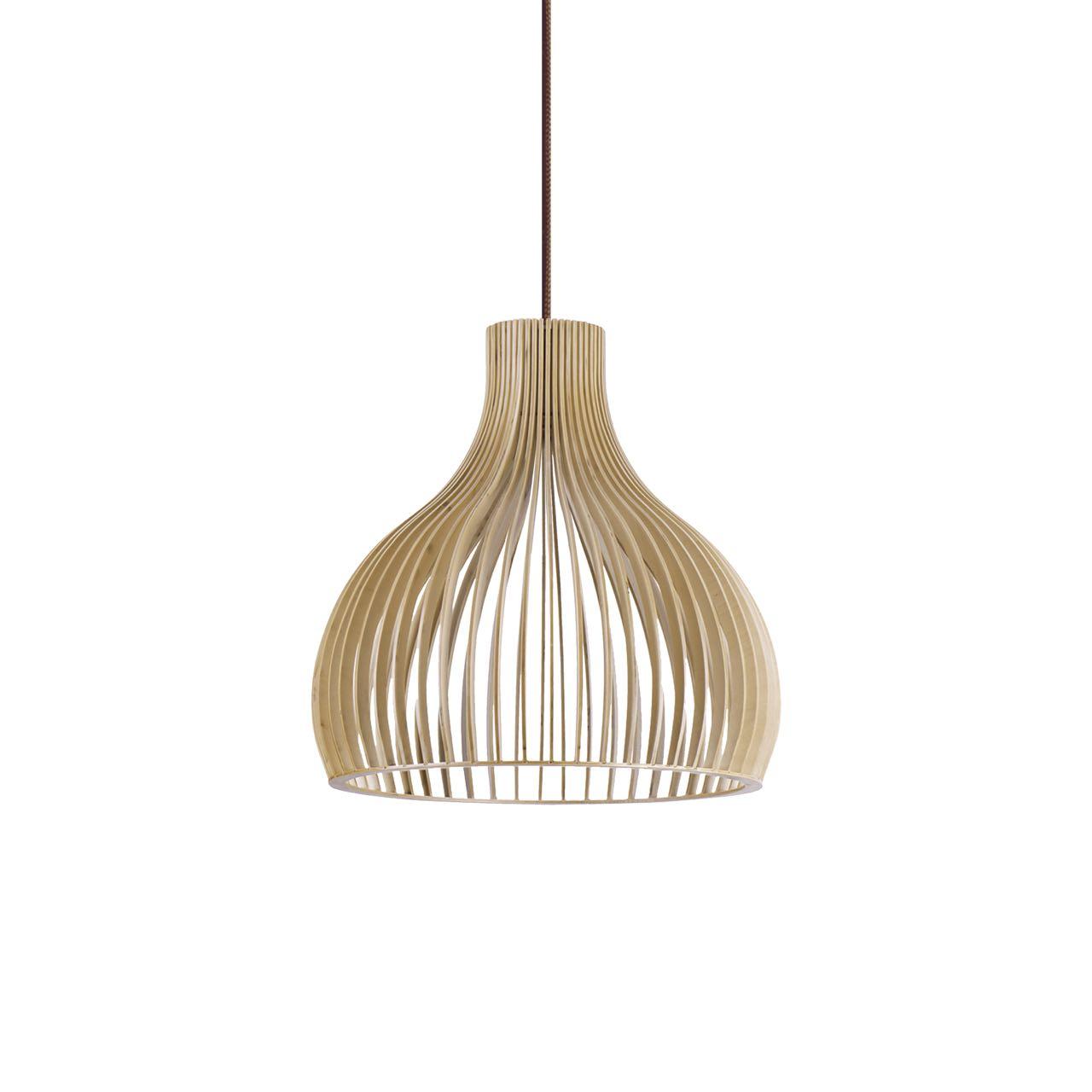 L mpara techo madera para led campana l mparas colgantes for Modelos de lamparas