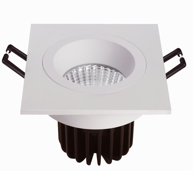 Iluminacion Baño Led Opiniones:Focos de LED para empotrar en baños y zonas húmedas